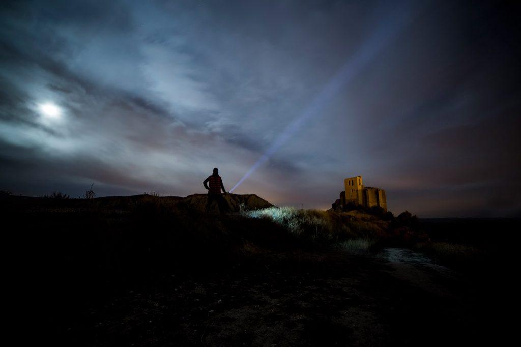 Iluminarte Olite 2015 - Salida nocturna previa