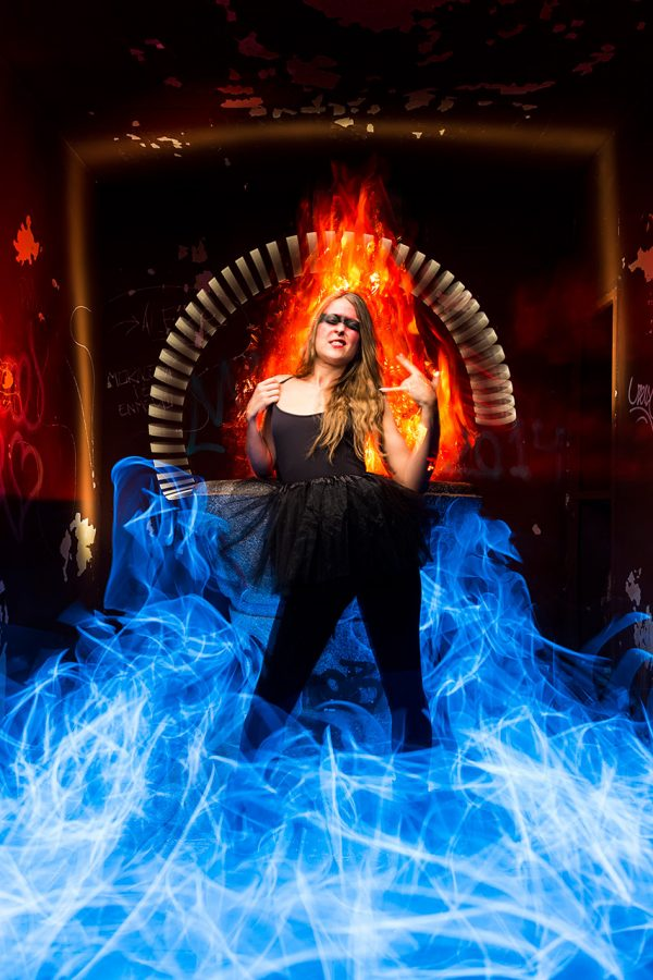 I'm on fire - LightPainting
