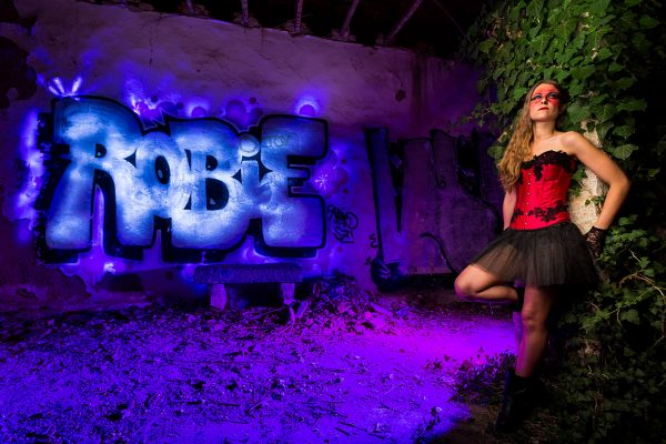 Robie - LightPainting en iNight