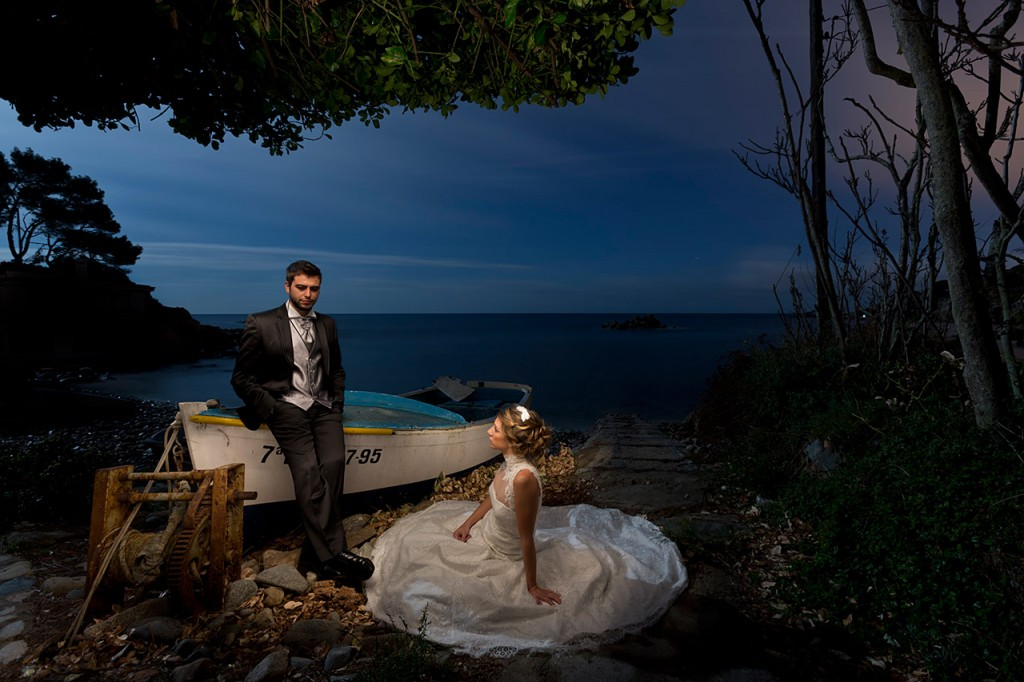 Foto Post Boda Lightpainting - Light Wedding