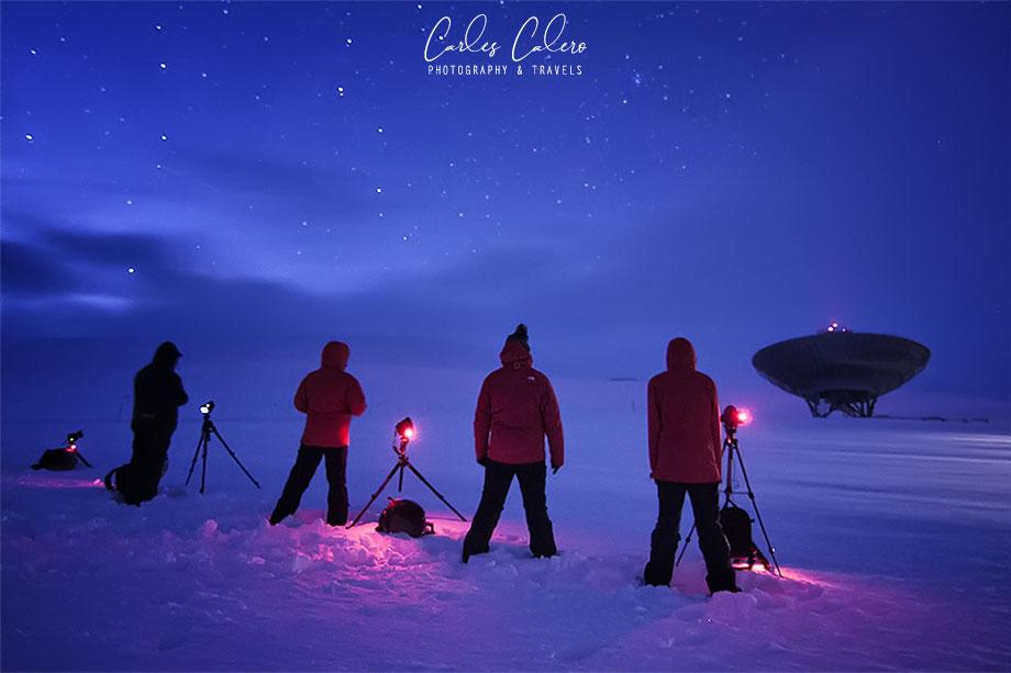 Fotografía con Frío - Svalbard (Círculo Polar Ártico)