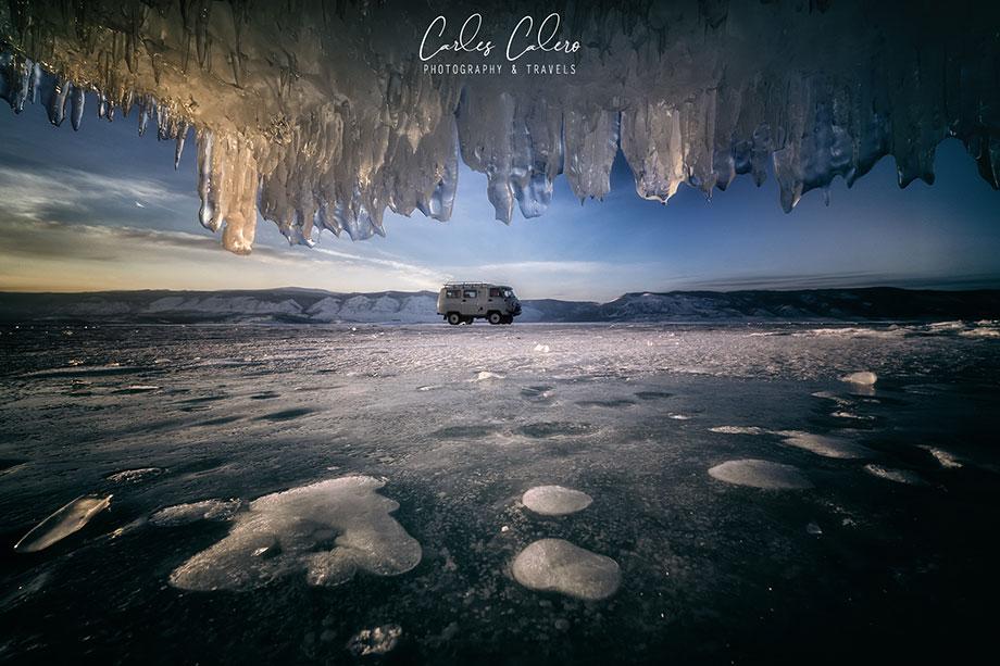 Viaje Fotográfico Lago Baikal - Desplazamientos en vehículos todo terreno