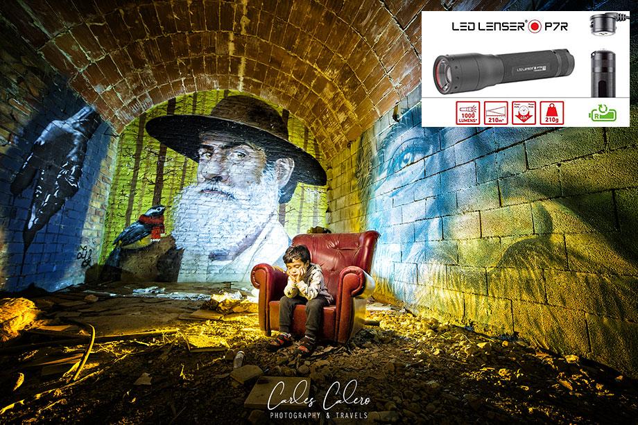 Led Lenser P7R - Linternas para fotografía nocturna y lightpainting