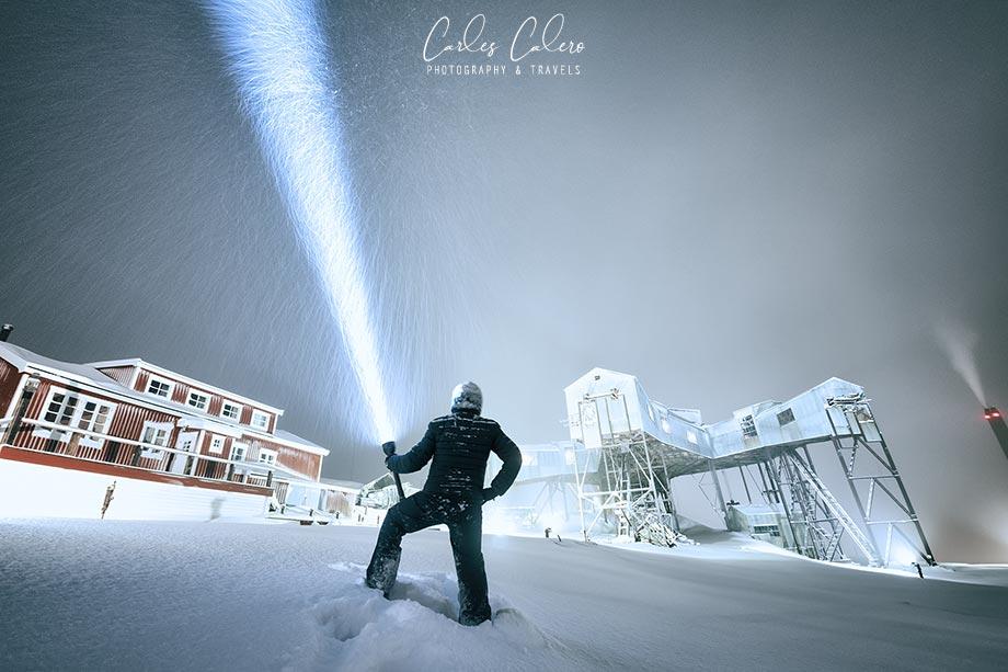 Equipo Fotográfico bajo cero - Svalbard 2017
