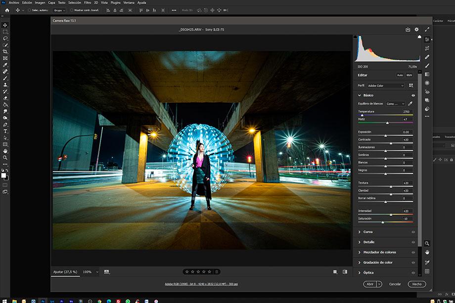 Curso online de fotografía nocturna y lightpainting